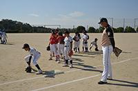 ドミー・日本ハム ジュニア野球教室&バーベキュー大会03